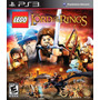 Lego The Lord Of The Rings Ps3 Físico Original Nuevo Sellado