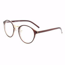 Armação Óculos Acetato Redondo Masculino Feminino Ga