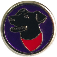Pin Perro Negro Matapacos (colores)