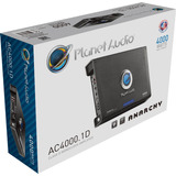Amplificador Planet Audio Ac4000.1d Anarchy Clase D P/woofer