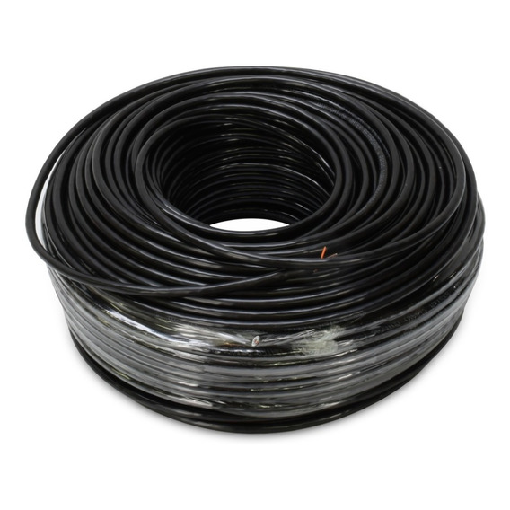 Cable Utp Bobina 100mts Cat 5e 2 Pares Exterior Alarma/video