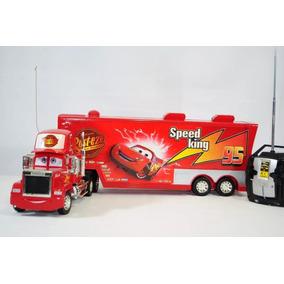 Mcqueen Caminhão Carreta Mack Com Controle Remoto