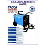 Soldadora Electrica Gamma Turbo 220 180 Amper