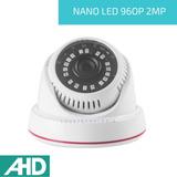 Cámara Domo Ahd 2mp 960p 2.8mm Nano Led Vision Nocturna