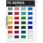 Vinilo Transparente Color Simil Vitreaux Tc Series Palopoli