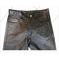 Pantalon Clásico Hombre Cuero Genuino - Maybe -