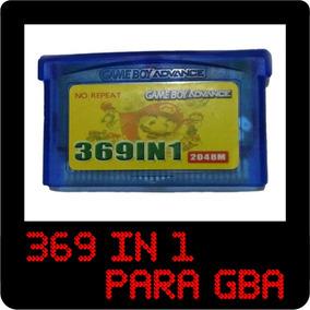 Fita Para Game Boy Advance Cartucho Com 369 Jogos