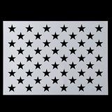 Bandera Americana 50 Star Stencil Para Pintar