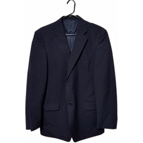 Saco Azul Marino Regular Nuevo Blazer Traje Hombre Formal Ks