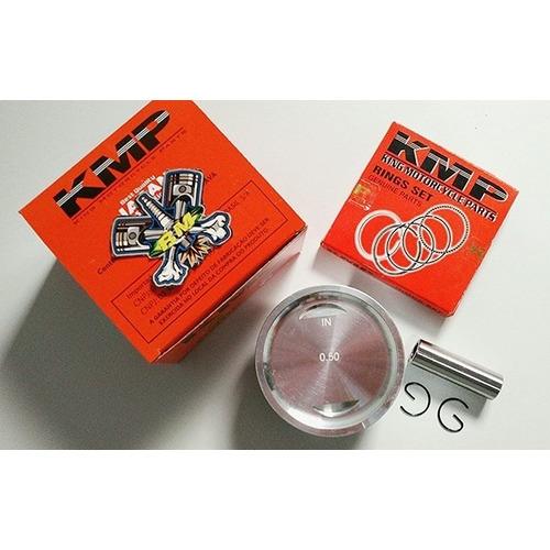 Pistão C/ Anéis Kmp 70,50mm P/ 220cc Cg 150 / 0,50mm