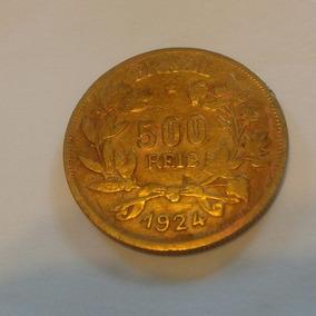 Moeda 500 Réis 1924