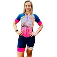 Macaquinho Ciclismo Feminino Elite Correntes Mc