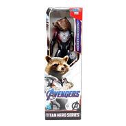 Novo Boneco Vingadores Ultimato Rocket Raccoon Hasbro