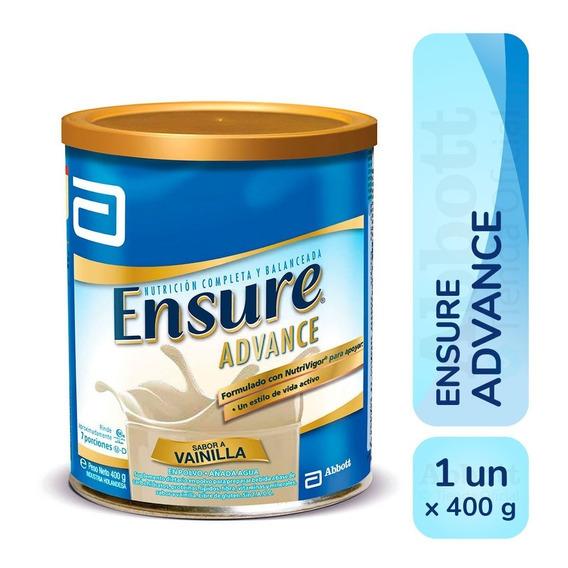 Ensure Advance En Polvo X 400 Gr Vainilla Chocolate Frutilla
