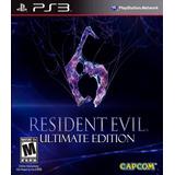 Resident Evil 6 Ps3 | Digital Español Inc. Extras Y Dlcs 2p