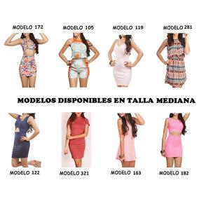 Vestidos Casuales Hermosos, Straples,con Manga,de Tirante...