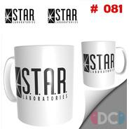 Taza De Comics Coleccionables Star Labs - Flash  Dc Comics