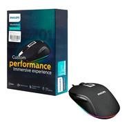 Mouse Philips Gamer Momentum Usb G201 Spk9212b