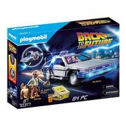 Delorean  Volver Al Futuro Playmobil 70317