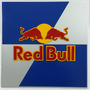 Placa Mdf Corte A Laser Alto Relevo Red Bull 40x40cm