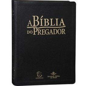 Bíblia Do Pregador Almeida Revista E Atualizada Luxo Preta