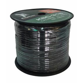 Rollo De Cable Calibre 16 Awg Para Bocina, Uso Rudo. 100m
