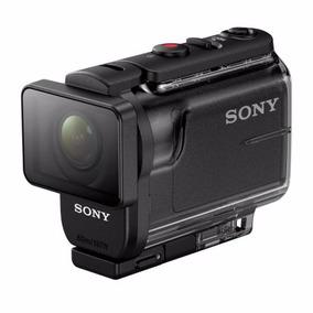 Sony Action Cam Hdr-as50 S/controle Preto+ Cartão 32 Gb