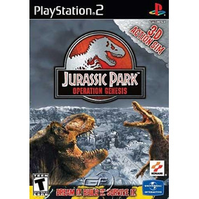 Jurassic Park: Operation Genesis - Ps2 Patch + Encarte