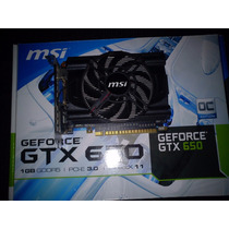 Placa De Vídeo Gtx 550 1gb Gddr5 Pci-e 3.0 Msi