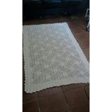 Tapete De Barbante Croche Para Sala, Quarto 1,50mx1,0m