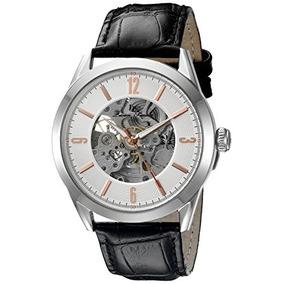 Lucien Piccard Relojes Loft Banda De Cuero Reloj