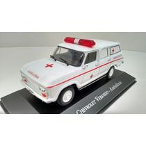 Miniatura Veraneio Ambulância (carros De Serviço ) 1:43