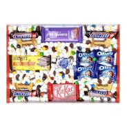 Caja De Dulces Y Chocolates Para Regalo - Chocolate Lover