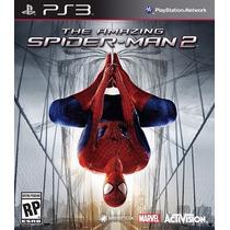 The Amazing Spiderman 2 - Mídia Física - Homem Aranha - Ps3