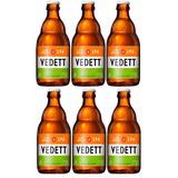 Pack Cerveja Belga Vedett Ipa 6 Garrafas 330 Ml Importada