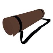Tapete Mat Yoga De Eva Fomi Con Strap (150x56cm) 6 Mm Oferta