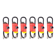 Pack 6 Cables Cannon Cannon 6 Metros  Xlr
