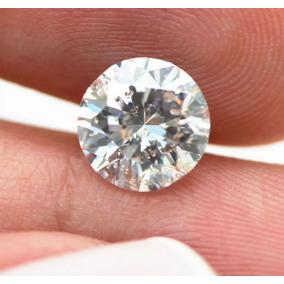 Lindo Diamante 90 Pts Certificado Igl, Cor E, Si, 5.90 Mm