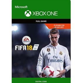 Fifa 18 Digital Código 25 Game Xbox One Original Barato