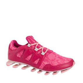 Tenis Deportivo Runningadidas Color Fiusha Textil Im793 A