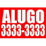 Adesivo Vendo Ou Alugo P/imóvel 140cmx210cm-promoção 20 Unid