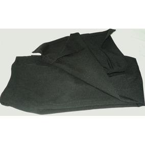Pantalón Mujer Vestir Recto Con Tajo En Botamanga Negro Xs