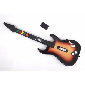 Guitarra Para Ps2 Mundo Dos Games Md3233 Sem Fio
