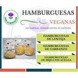 Hamburguesas Veganas - Vegetarianas Y Milanesas De Soja.