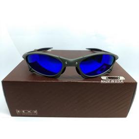 Oculos Oakley Juliet Lente Azul Polarizada Original - Óculos De Sol ... 8cb2ba19b1
