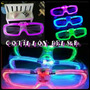 Anteojos Gafas Led Cotillon Super Luminosas Fiesta X10 !