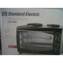 Horno Electrico+standard Electric Ste-1058+2 Anafes+58litros