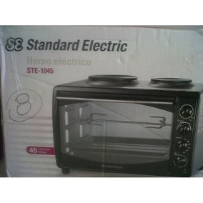 Horno Electrico+standard Electric Ste-1058+2 Anafes+58litros