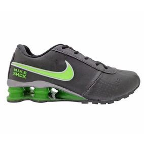 Tênis Nike Shox Classic Preto E Verde