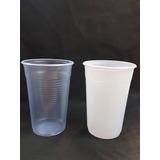 Vasos Plastico Descartables 300 Cc Blancos O Transparente.